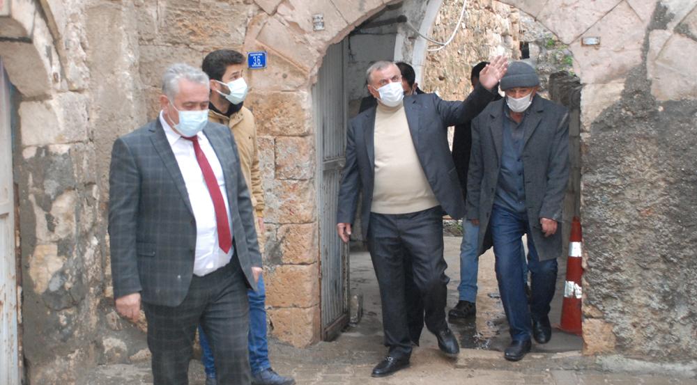 Başkan Şahin' Göreme Belediye Başkanı Ömer Eren'i ağırladı