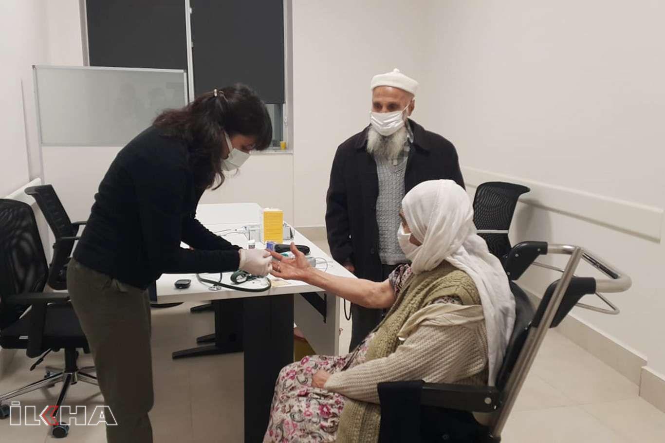 85 yaş üstündekilerin aşı çalışmasına başlandı