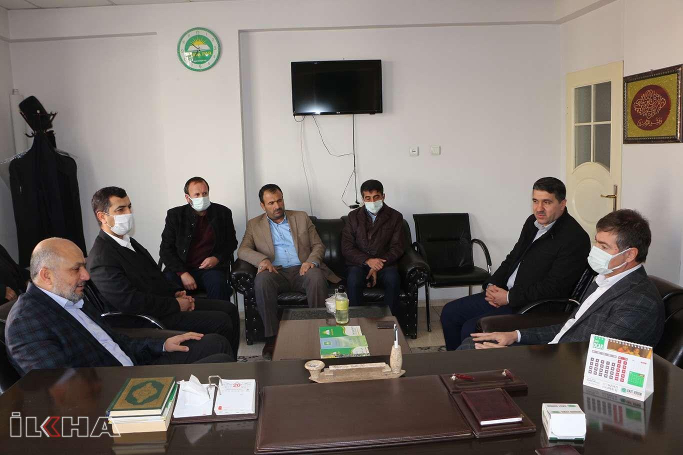 Milletvekili Demirkaya'dan HÜDA PAR Mardin İl Teşkilatına ziyaret