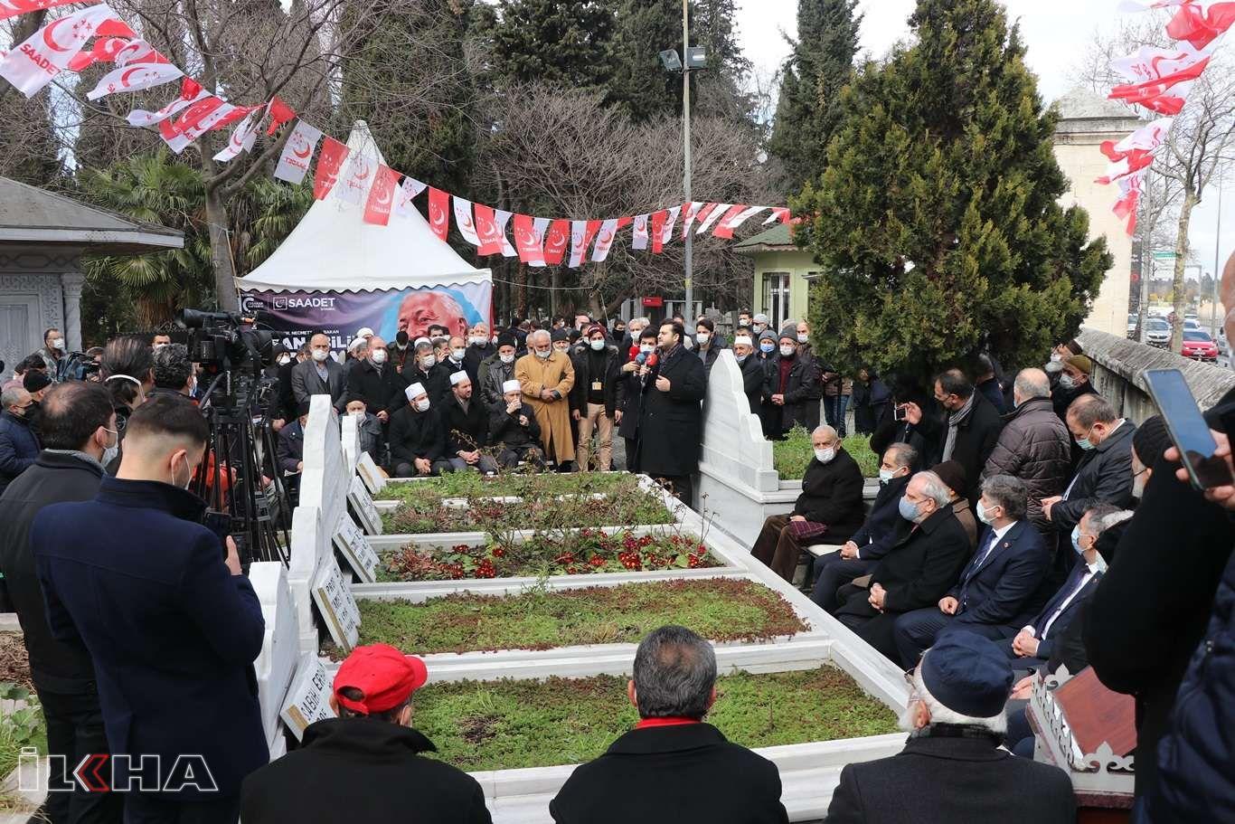Prof. Dr. Necmettin Erbakan vefatının 10uncu yılında mezarı başında dualarla anıldı