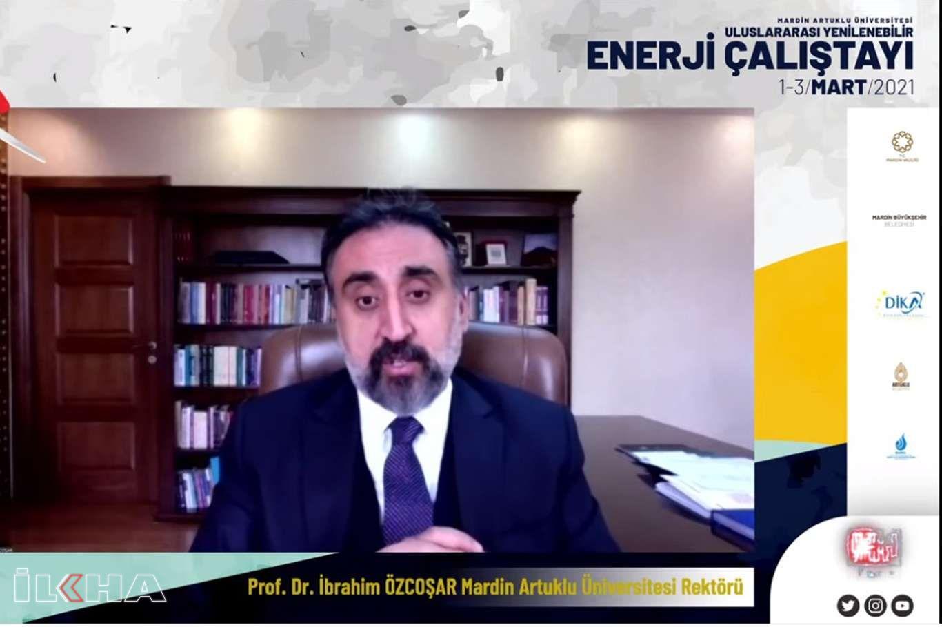 """Uluslararası """"Yenilenebilir Enerji"""" çalıştayı başladı"""