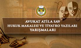 Türkiye Barolar Birliği, Avukat Atila Sav'ın adına iki ayrı yarışma düzenledi: