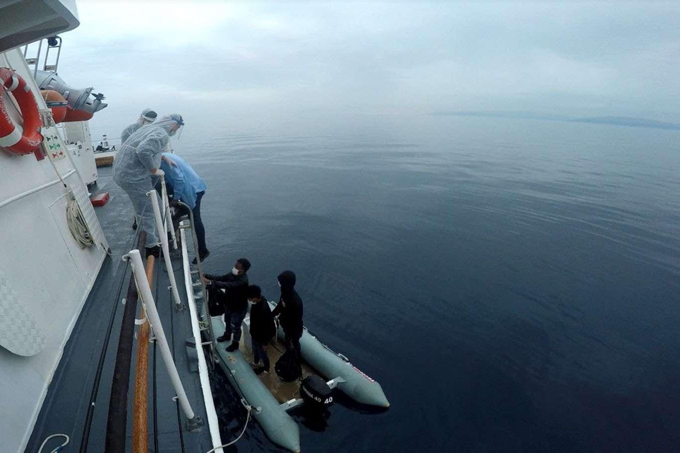 Sahil Güvenlik Komutanlığı: 8 düzensiz göçmen kurtarıldı