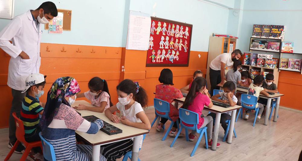 Midyatta Çocuklar İçin Akıl Ve Zeka Oyunları Salonu Açıldı