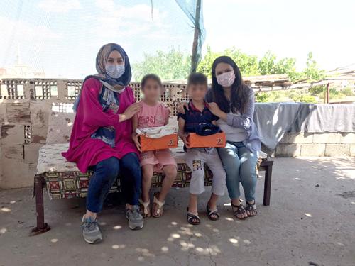 Büyükşehir Belediyesinden İhtiyaç sahibi çocuklara bayramlık