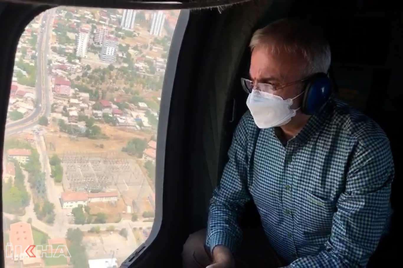 Diyarbakırda bayram öncesi havadan trafik denetimleri yapıldı