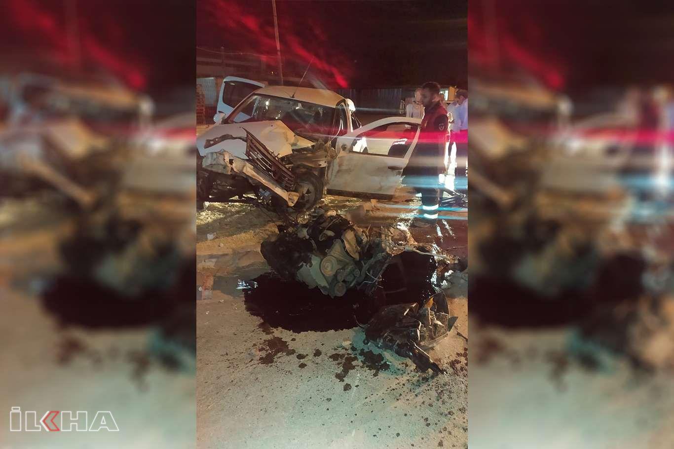 Direksiyon hakimiyetini kaybeden sürücü kaza yaptı: Bir yaralı