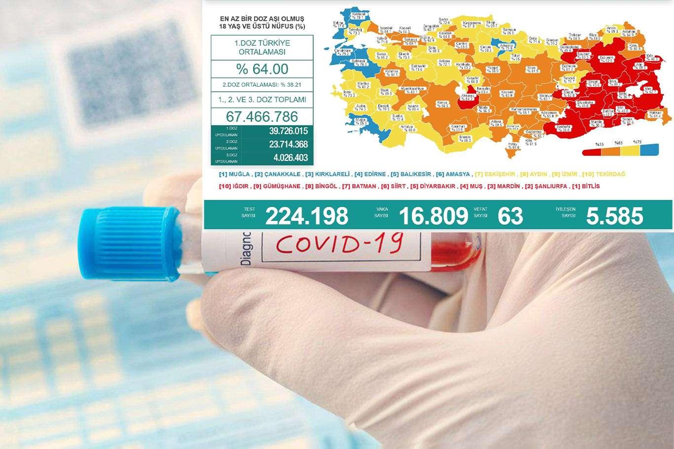 Türkiyede Covid-19 vaka ve vefat sayısı artıyor