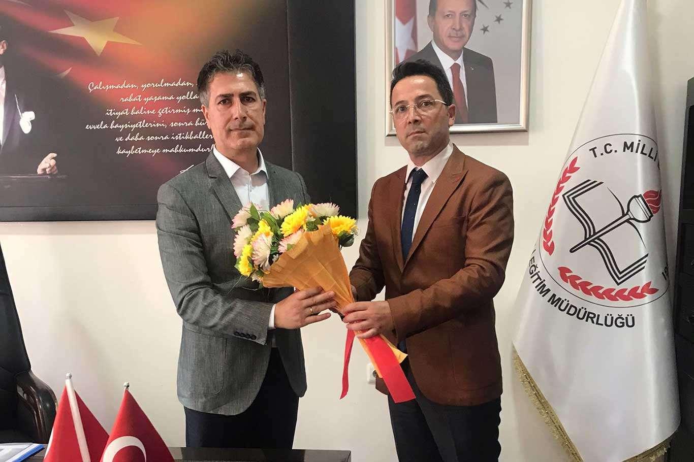Ergani İlçe Milli Eğitim Müdürlüğüne Demir Ernez yeniden getirildi