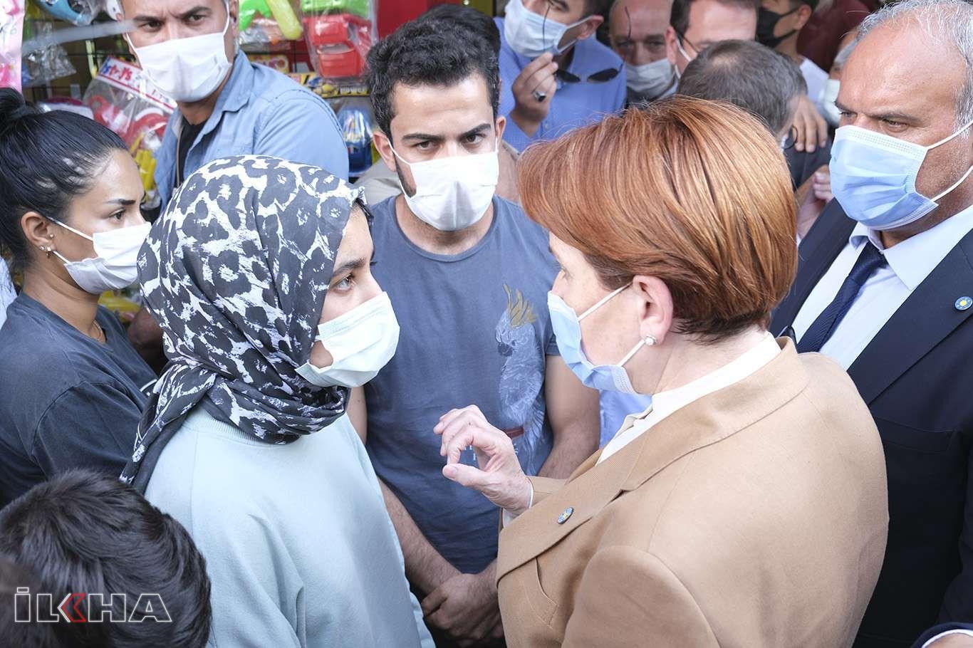 İYİ Parti Genel Başkanı Akşener Van esnafını ziyaret etti
