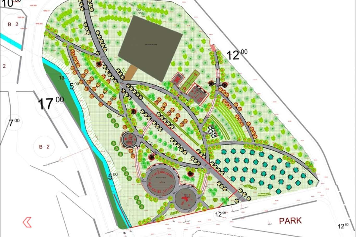 Diyarbakırın Hazro ilçesinde Millet Bahçesi inşa edilecek