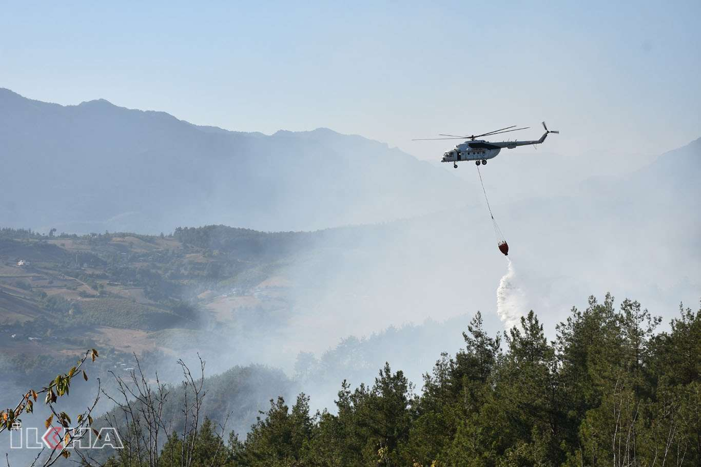 Bakan Pakdemirli: 107 orman yangınından 98i kontrol altına alındı