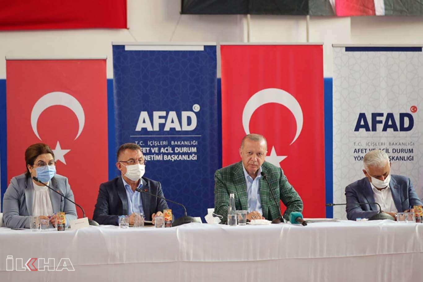 Cumhurbaşkanı Erdoğan: Yanan her yeri fazlasıyla ağaçlandıracağız