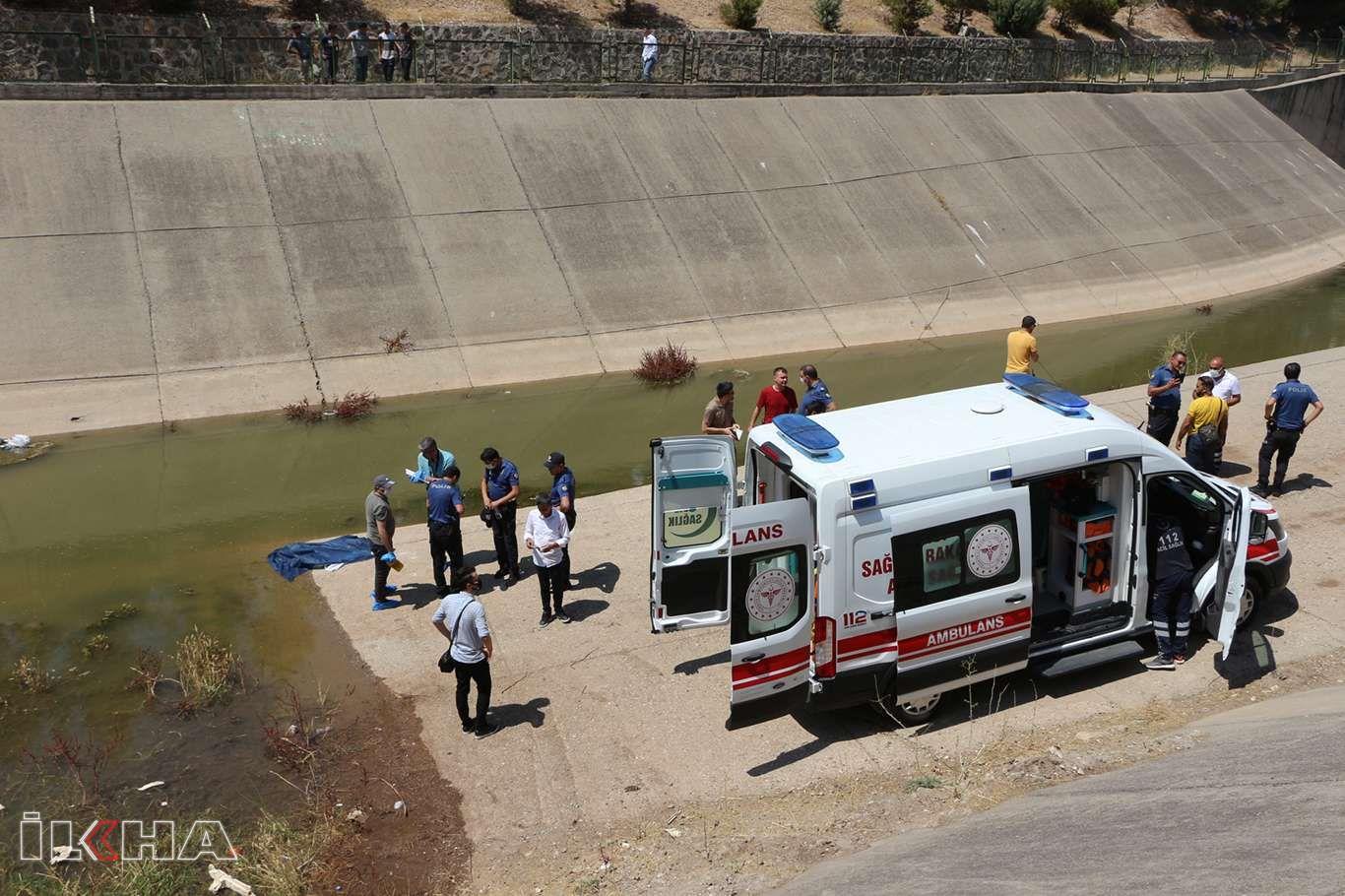 Dün akşam kaybolan çocuk su kanalında ölü bulundu