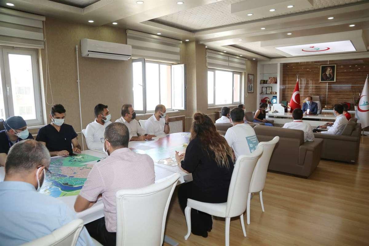 Şırnak'ta salgın ve aşılama değerlendirme toplantısı yapıldı