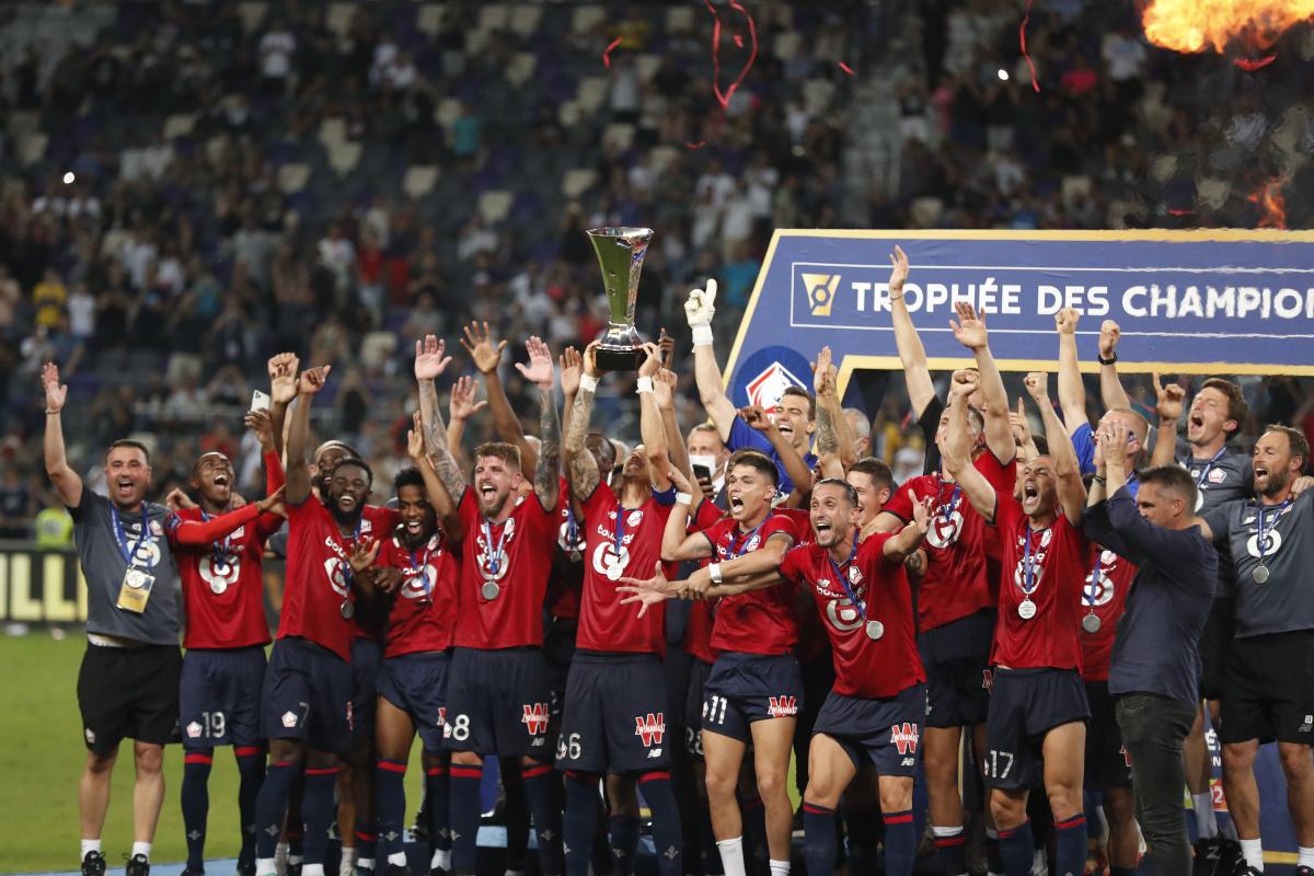 Lille, Fransa Süper Kupasının sahibi oldu
