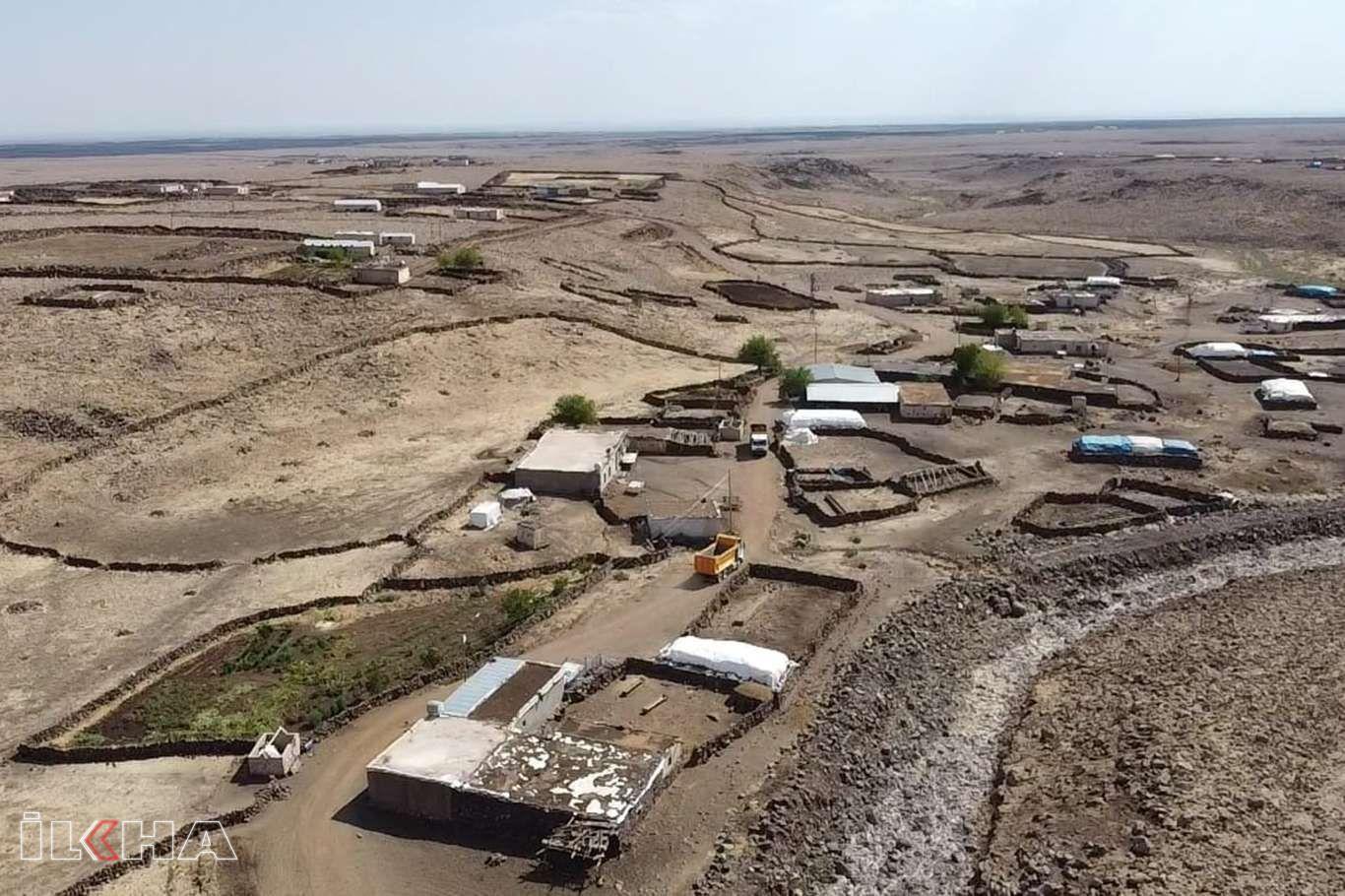 Viranşehirde stabilize yol çalışmaları devam ediyor