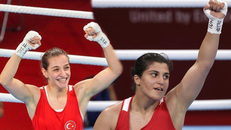 Buse Naz Çakıroğlu ve Busenaz Sürmeneli finalde!