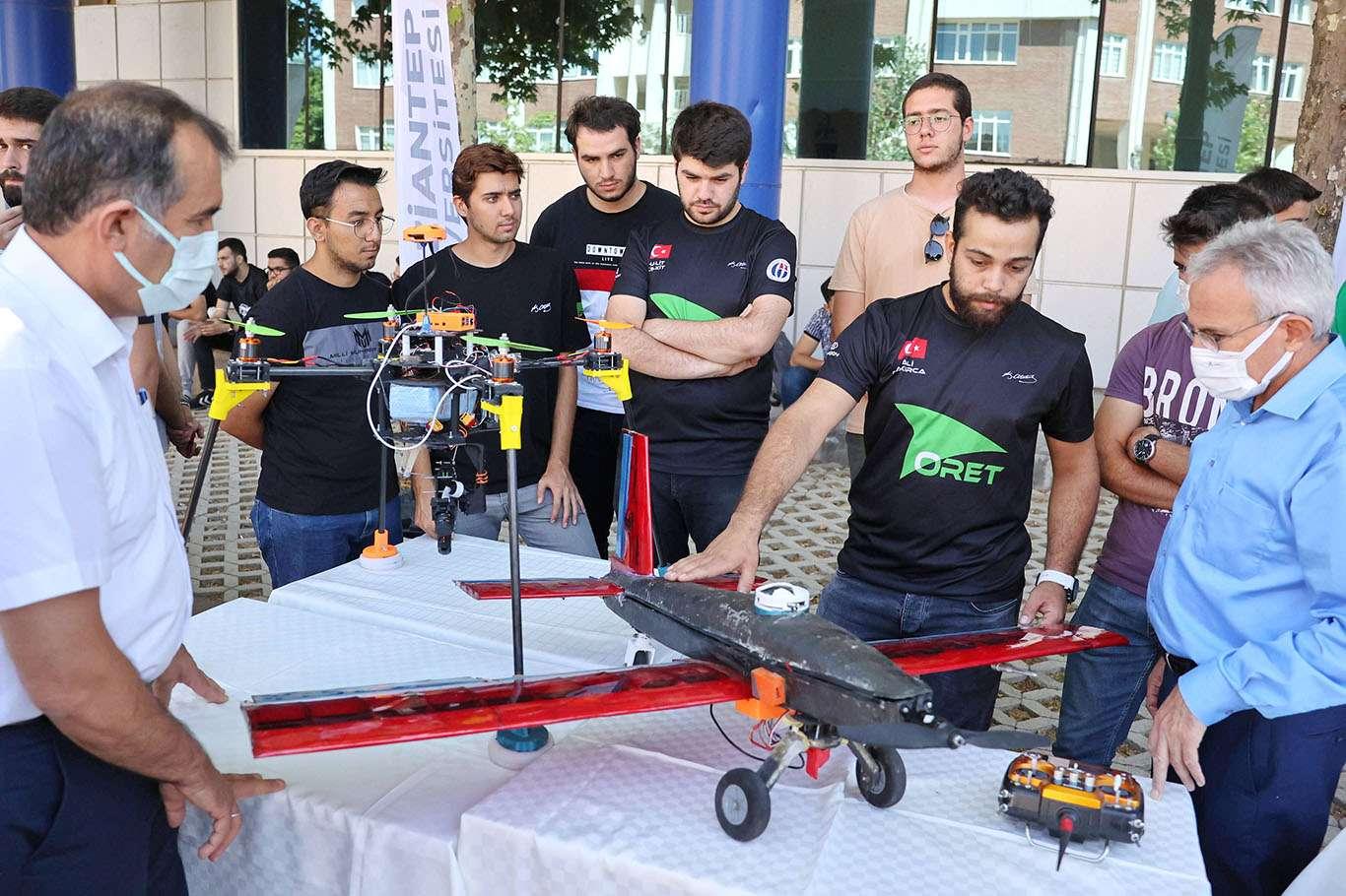 Gaziantep Üniversitesi öğrencileri TEKNOFEST'te birinci olmak istiyor