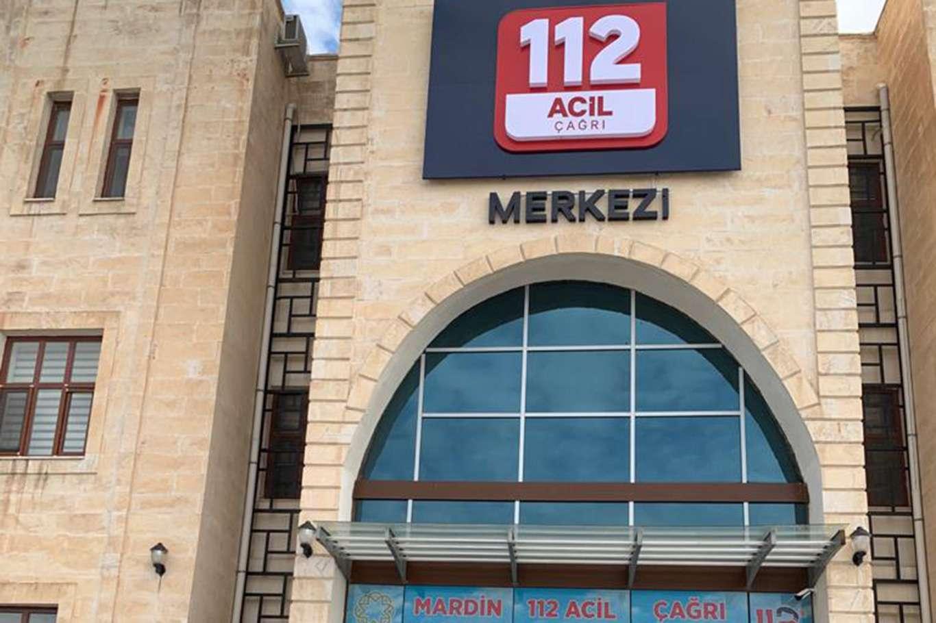 Mardinde 112 Acil hattına gelen çağrıların yüzde 86sı asılsız çıktı