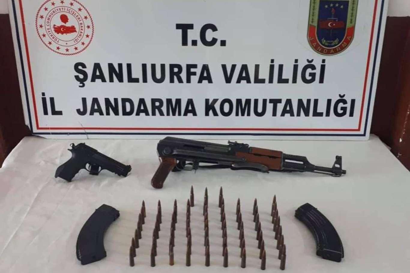 Viranşehirde silah kaçakçılarına operasyon: 1 gözaltı