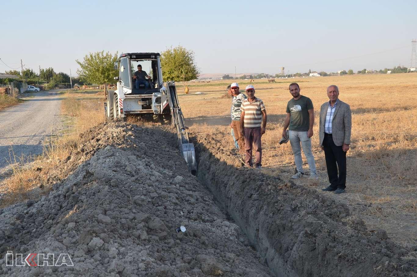 Balpınarda 12 bin metrelik içme suyu şebekesi ve altyapı çalışmaları sürüyor