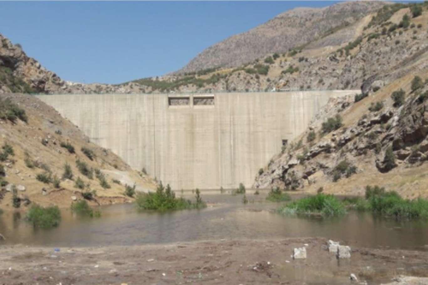 Şırnak Musatepe Barajında su tutuldu