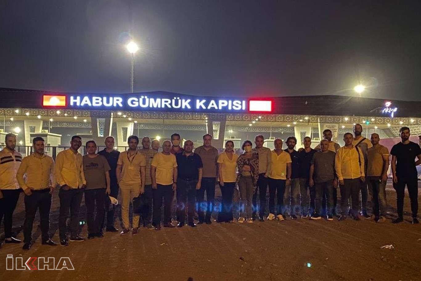 Ticaret Forumuna katılmak üzere Türkiyeden iş insanları Irak Kürdistanına gitti