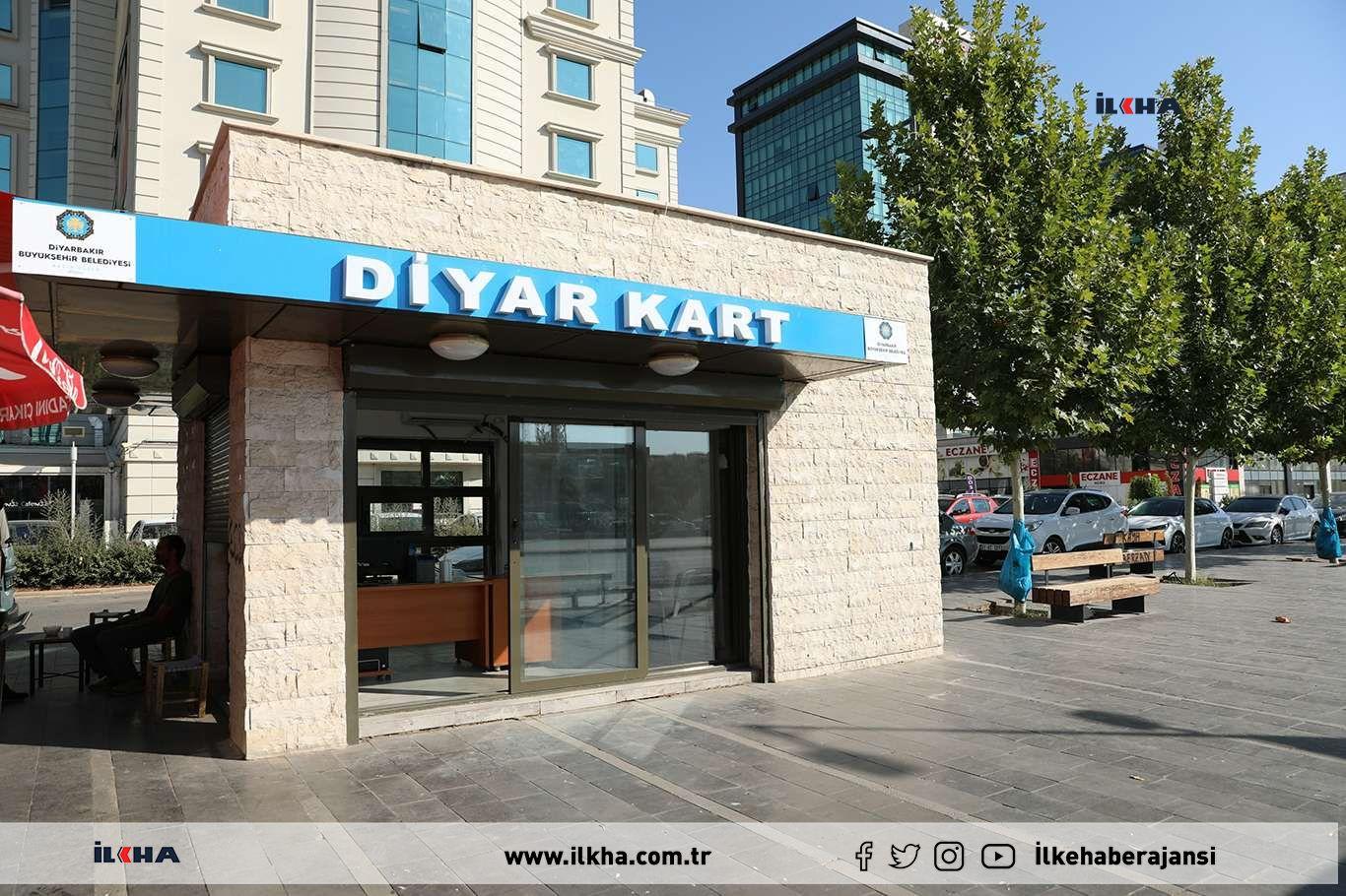 Diyarbakırda yeni Diyarkart bürosu açıldı