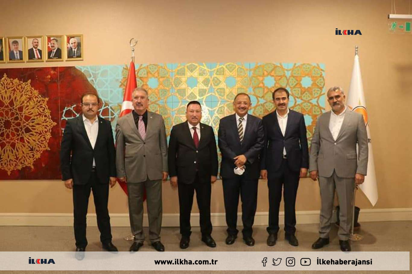 AK Parti Genel Merkez Yerel Yönetimler Başkanı Özhasekiden Bağların projelerine destek