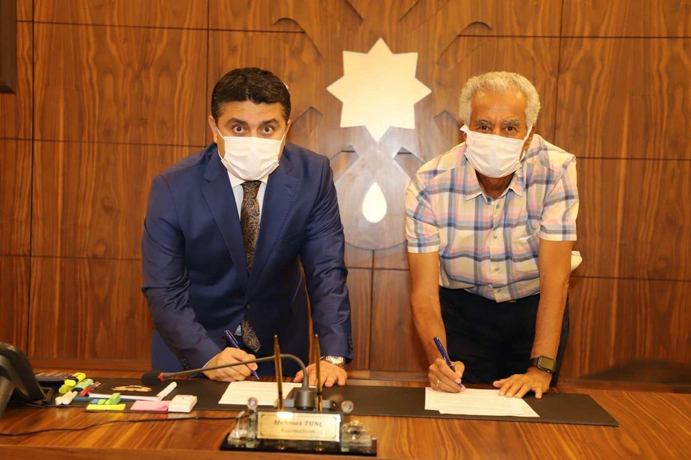 Cizre'de şehir içi ulaşım, trafik iyileştirme ile ilgili sözleşme imzalandı