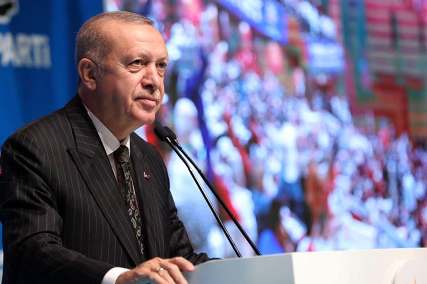 Cumhurbaşkanı Erdoğan partisinin Mersin Genişletilmiş İl Danışma Toplantısına katıldı