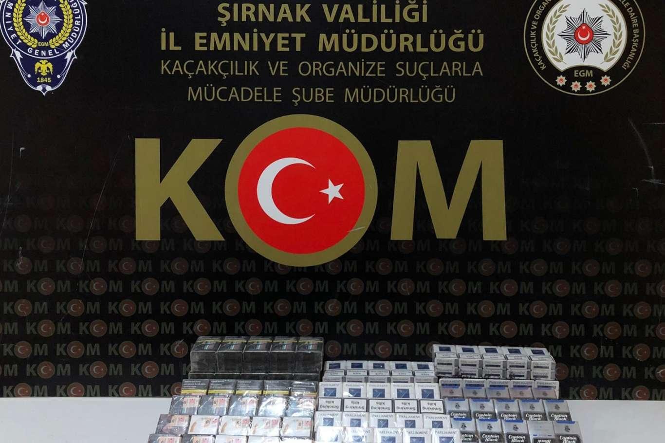 Şırnak'ta kaçakçılık ve asayiş operasyonu: 42 gözaltı