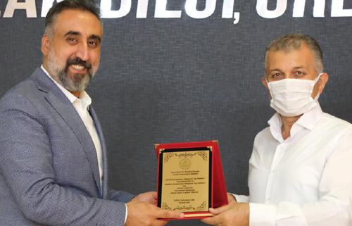 STK'lardan Rektör Özcoşar'a Ziyaret