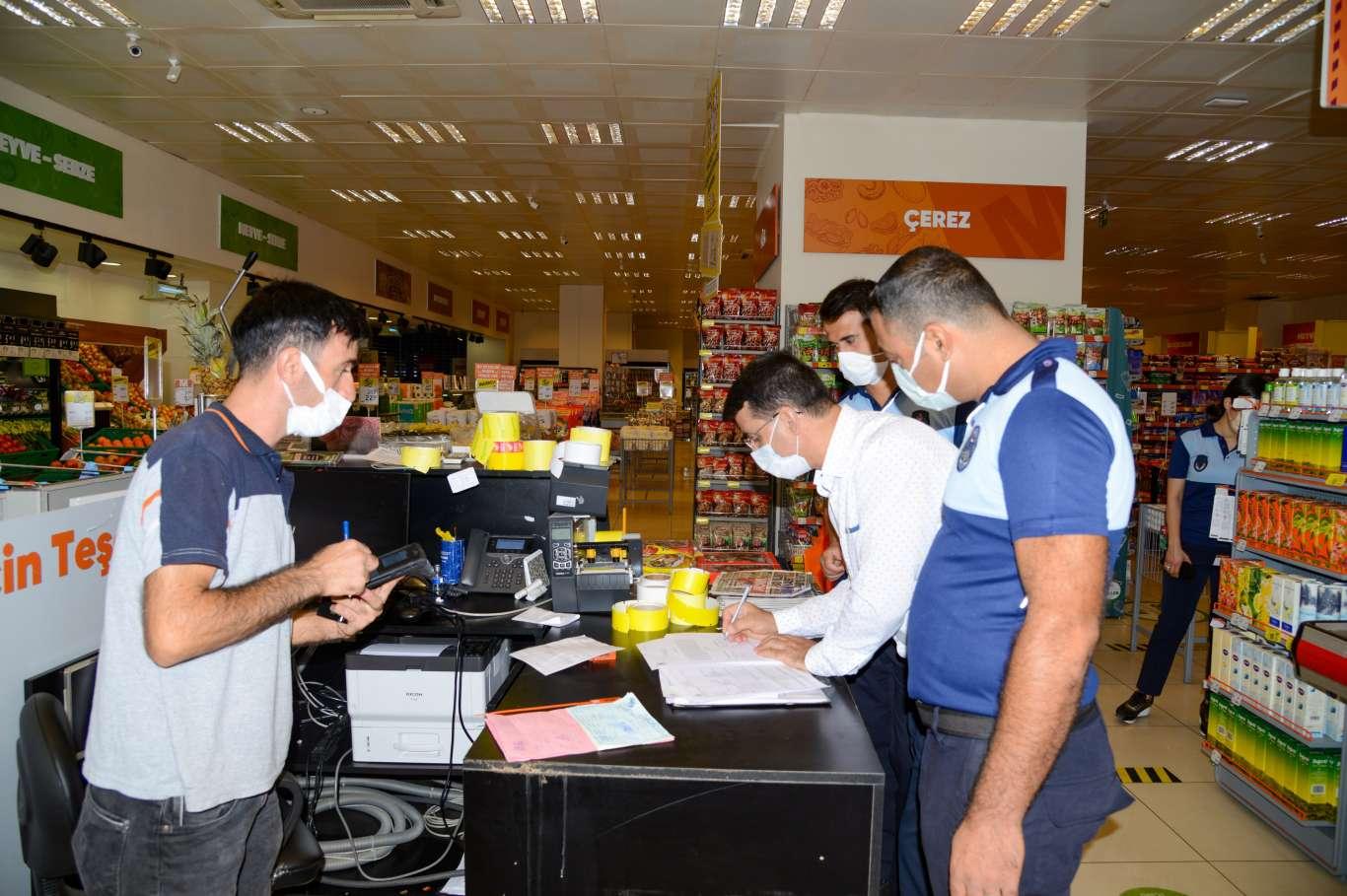 Diyarbakırda haksız fiyat artışı denetimi yapıldı
