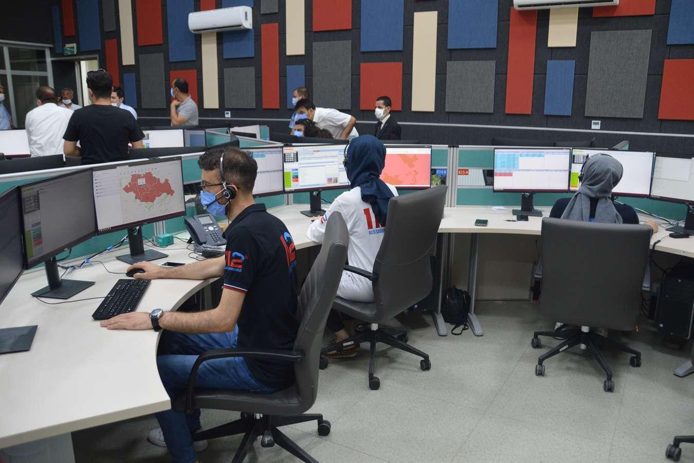 Siirt'te acil çağrı merkezine yapılan çağrıların yüzde 81i asılsız çıktı