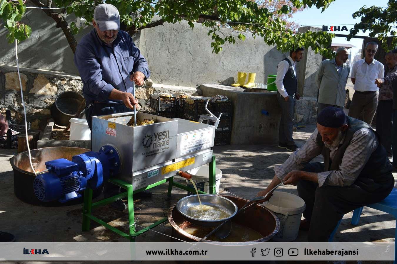 Kendi pestilini kendin yap projesiyle üreticilere üzüm sıkma makineleri verildi