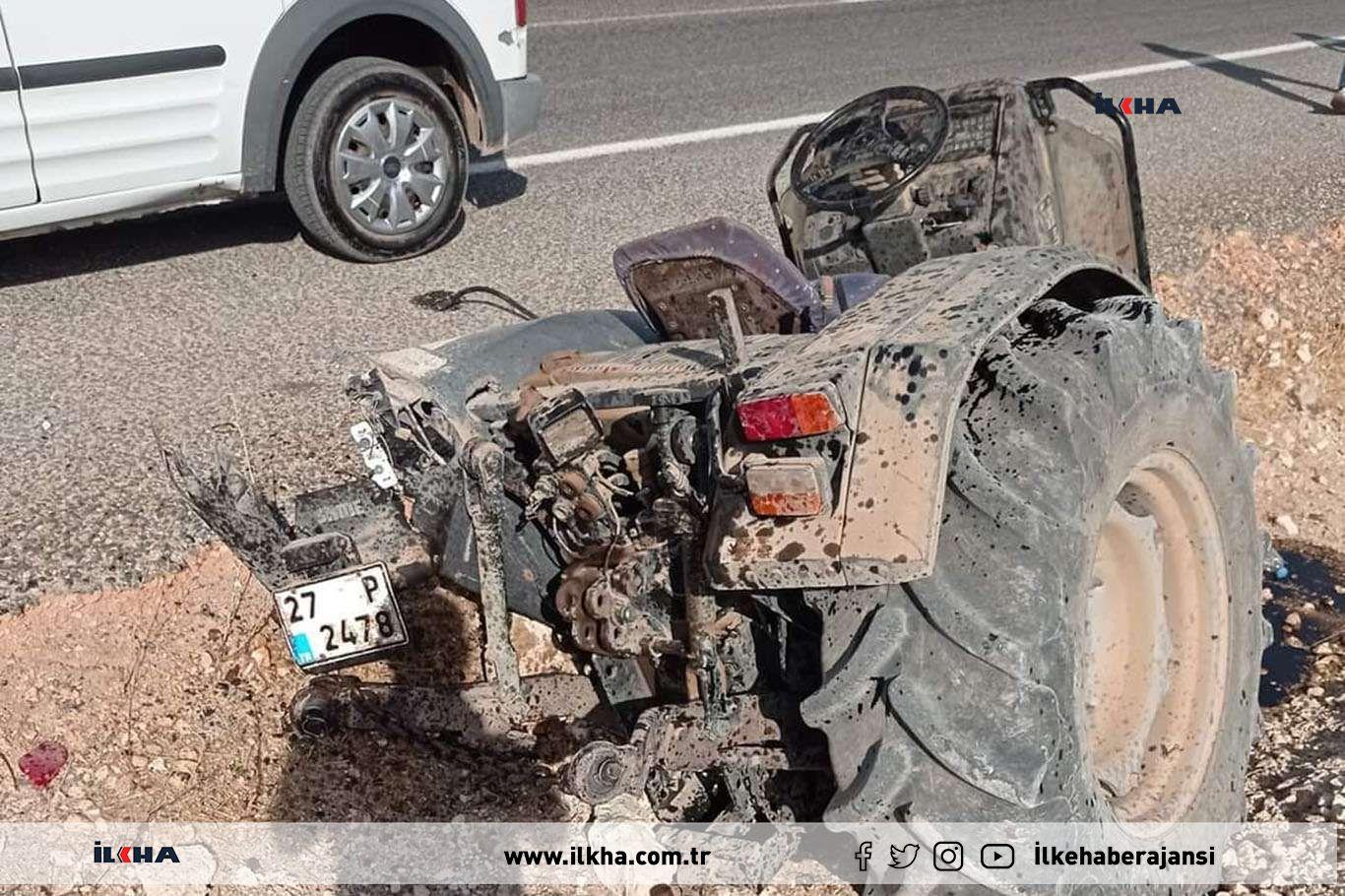 Hafif ticari araç ile traktör çarpıştı: Bir ölü 3 yaralı