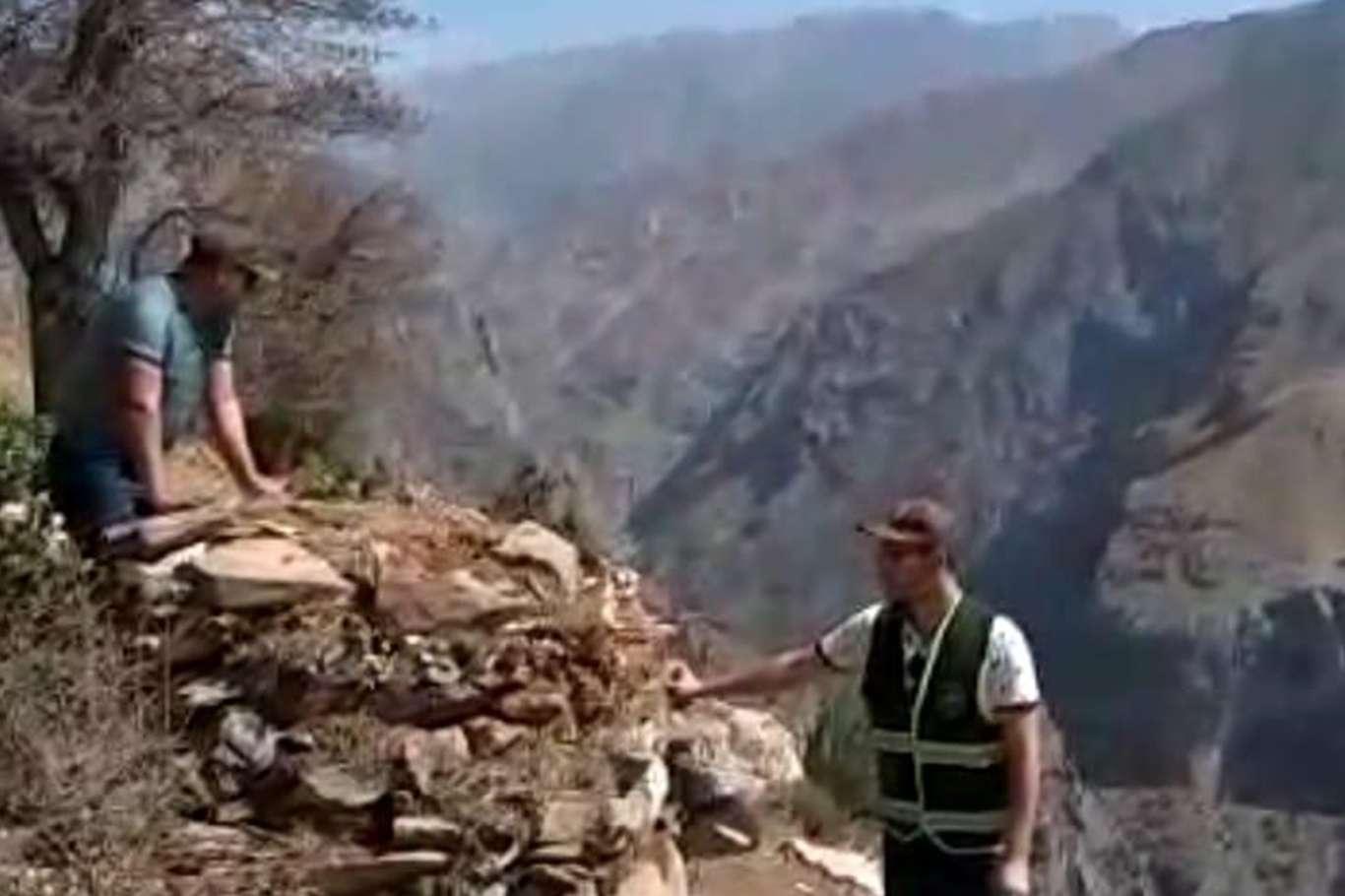 Siirtte kaçak avcıların kurduğu tuzaklar yıkıldı