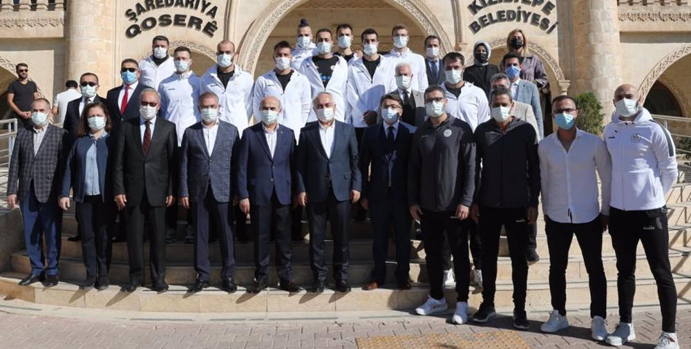 İçişleri Bakan Yardımcısı Mehmet Ersoy Mardinde