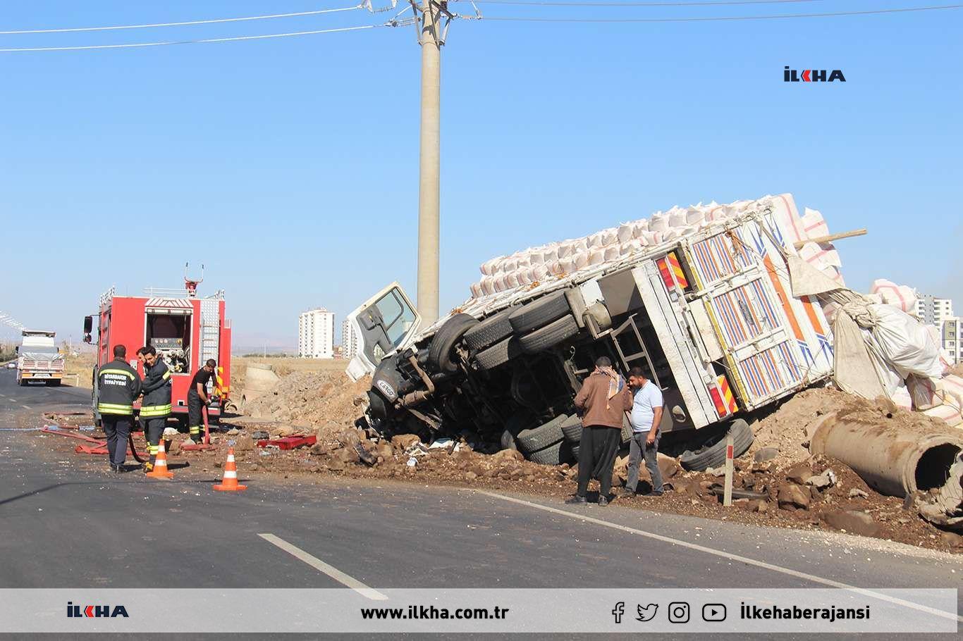 Diyarbakırda trafik kazası: 3 yaralı